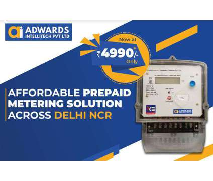 Smart metering for real estate, Manufacturing Industry or Discoms is a Everything Else for Sale in Faridabad UP