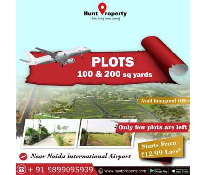 Avail the Great Opportunity to own Property near Noida International Airport in Delhi DL is a Land
