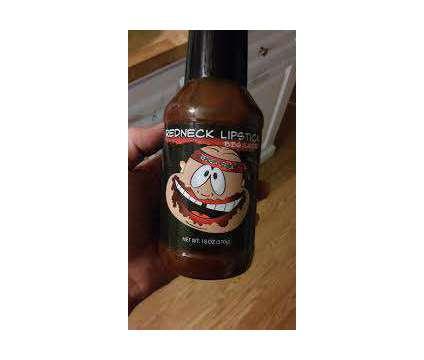 Redneck Lipstick BBQ Sauce is a Food & Produces for Sale in Marietta GA
