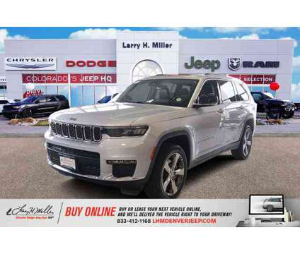 2021 Jeep Grand Cherokee L Limited is a Silver 2021 Jeep grand cherokee Car for Sale in Denver CO