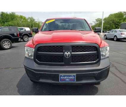 2017 Ram 1500 Tradesman is a Red 2017 RAM 1500 Model Tradesman Car for Sale in Harvard IL