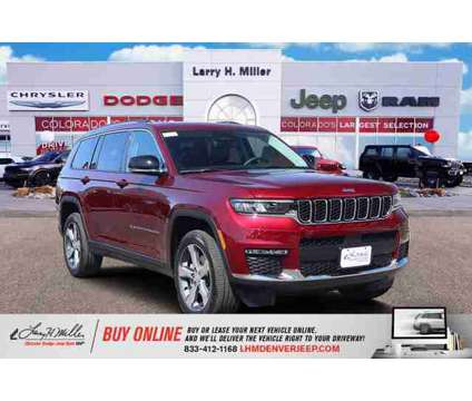 2021 Jeep Grand Cherokee L Limited is a Red 2021 Jeep grand cherokee Car for Sale in Denver CO
