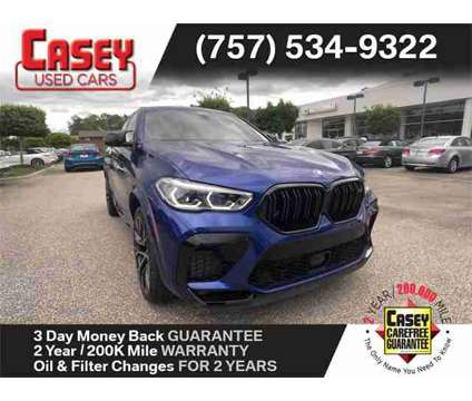 2020 BMW X6 M Competition COMPETITION is a Blue 2020 BMW X6 M SUV in Newport News VA