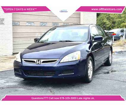 2006 Honda Accord for sale is a Blue 2006 Honda Accord Car for Sale in Norcross GA