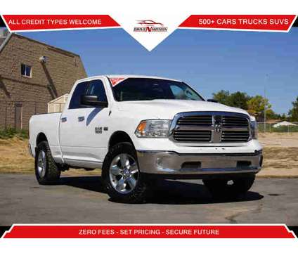 2015 Ram 1500 Quad Cab for sale is a White 2015 RAM 1500 Model Car for Sale in Englewood CO