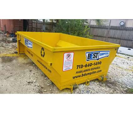 Best dumpster service is a Removal of Junk or Building Materials service in Houston TX