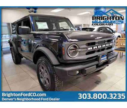 2021 Ford Bronco Big Bend is a Blue 2021 Ford Bronco Car for Sale in Brighton CO