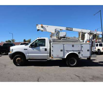 2003 Ford F550 Super Duty Regular Cab & Chassis for sale is a White 2003 Ford F-550 Car for Sale in Denver CO