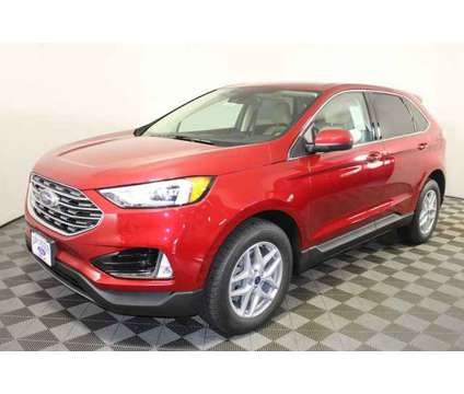 2021 Ford Edge SEL is a Red 2021 Ford Edge SEL SUV in Kansas City MO