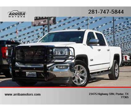 2018 GMC Sierra 1500 Crew Cab for sale is a White 2018 GMC Sierra 1500 Crew Cab Car for Sale in Porter TX
