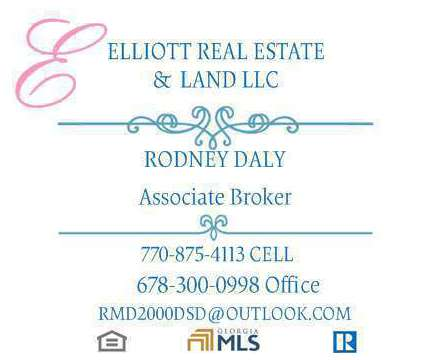 Real Estate Agent in Mcdonough GA is a Single-Family Home