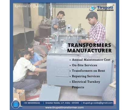Repair and Maintenance Services of Transformers in Near me in New Delhi DL is a Property Rental