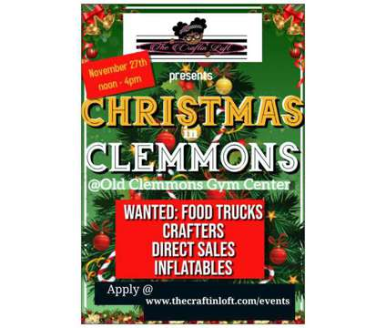 Community Fair- Christmas in Clemmons is a Celebrations listing in Clemmons NC