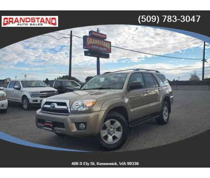 2006 Toyota 4Runner for sale is a Gold 2006 Toyota 4Runner 4dr Car for Sale in Kennewick WA