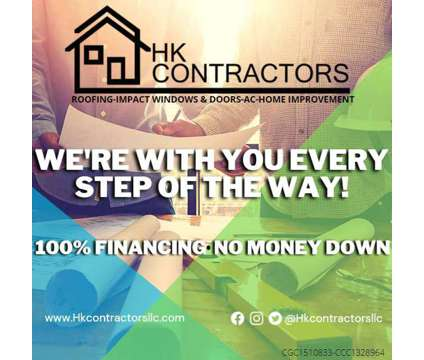 Offering 0 down payment programs to help Florida homeowner upgrade their homes is a Other Announcements listing in Hallandale Beach FL