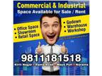 Commercial and Industrial Space for Rent in Rama Road Moti Nagar