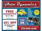 Oil Change . Auto Dynamics