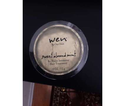 Wen Re Moist Intensive Hair Treatment Sweet Almond Mint 4oz / Anti-Frizz Styling is a Hair Products for Sale in Sappington MO
