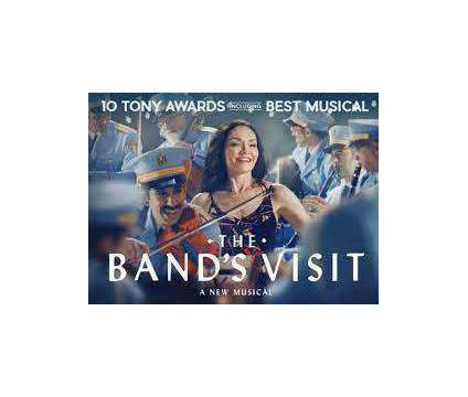 2 Tickets to The Band's Visit at Benedum Pgh Sat Oct 30 8:00 PM is a Theater Ticket on Oct 30 in Pittsburgh PA