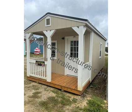 Cabin with electrical package 10x20 is a Lawn, Garden & Patios for Sale in Mansfield GA