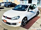2012 Volkswagen Golf GTI White, LOW MILES - MANUAL TRANSMISSION