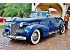 1940 Cadillac Series 62 Convertible Blue