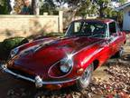 1970 Jaguar E-Type 4-Speed Burgundy Coupe 6 Cylinders E-Type RWD