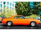 1973 Plymouth Cuda 340ci 4-Speed BS Code Cuda Hemi Orange Plymouth