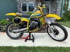 1980 Suzuki RM Beautiful! 1980 SUZUKI RM125 MX Motocross