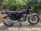 1975 Kawasaki Mach 4 Original Purple