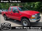 1999 Ford F-250 Red, 214K miles