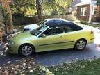 2006 Saab 9-3 Green convertible in good condition
