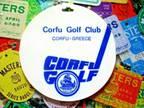vtg - PGA Golf Bag Tag - CORFU GOLF CLUB gc - Corfu France
