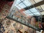 Free glass top coffee table