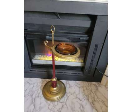 Brass Antique Standing Ashtray is a Antiques for Sale in Sandy Springs GA