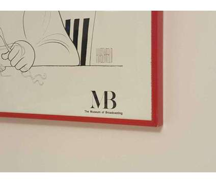 Al Hirschfeld Museum Of Broadcasting Honeymooners Poster Print Framed is a Collectibles for Sale in Sandy Springs GA