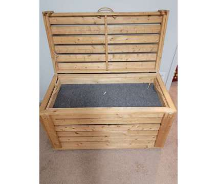 Wooden Storage Chest is a Other Furnitures for Sale in Greenville NC