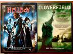 "$5 FRIGHT Night-""Hellboy"" & ""Cloverfield"" Dvd Combo"
