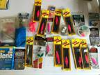 Fishing Gear Assortment Buzz Bombs Hooks Tackle Used/New