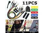 11Pcs Heavy Duty Resistance Bands Set for Gym Exercise Pull