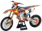 New Ray Toys 49683 1:6 Scale Red Bull for KTM Dirt Bike