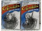 (2packs) Gamakatsu 2/0 G-Lock Worm Value Pack 25/pack 50