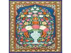 30 Custom Vintage Indian Floral Art Personalized Address