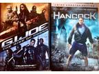 G.I.Joe & Hancock $5 Dvd Combo Special