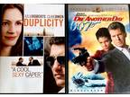 Duplicity & Die Another Day $5 Dvd Combo Special